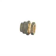 Kinetic 20FL x 20FL Brass Flared Compression Union