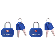 Master Lock Luggage TSA Padlock - 2 Pack