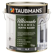 Taubmans Ultimate Enamel 4L Accent Gloss Alkyd Based Enamel