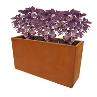 Whites 75 x 23 x 40cm Rectangle Cafe Divi Oxy-Shield Planter