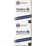 Bradford Polymax Acoustic Batts R2.5 1160 x 430 x 90mm 4.5m2