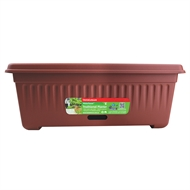 Home Leisure 48cm Rec Traditional Watersaver Pot - Manor Red