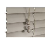 Zone Interiors 150 x 150cm 50mm PVC Long Island Venetian Blind - Stone
