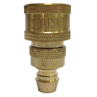 Holman 12mm Brass Barbed Screw On Repair Hose Connector