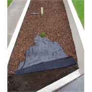 Pillar Products 0.915 x 25m Platinum Weed Control Mat