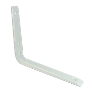 Carinya 125 x 150mm White Stronghold Bracket