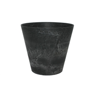 Tuscan Path 47cm Black Stone Art Claire Pot