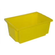 Award 60L Yellow Storeaway Storage Crate
