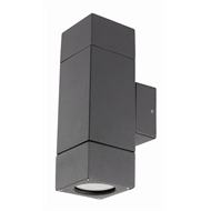 Brilliant Ormond Charcoal Up Down Exterior Wall Light