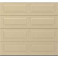 Gliderol Garage Doors 2200 - 2450 x 2501 - 2800mm Golden Oak Hampton Panel Glide Garage Door