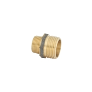 Kinetic 25 x 20mm Brass Threaded Hex Reducing Nipple