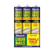 Selleys 420g Liquid Nails Fast Grab - 3 Pack