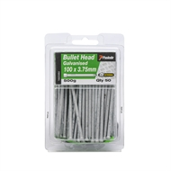 Paslode 100 x 3.75mm 500g Galvanised Bullet Head Nails - 50 Pack