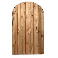 900 x 1800mm Closed Arch Cypress Pine Gate