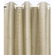 Claremont 1200x2230mm Eyelet Block Out Tally Stone Curtain