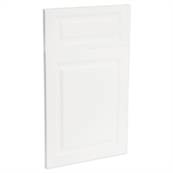 Kaboodle 450mm Heritage Vinyl 1 Door / 1 Drawer Panel - Gloss White