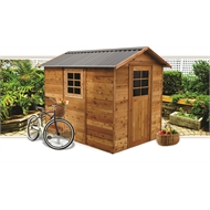 STILLA 1.93 x 2.74 x 2.36m Oxford Cedar Shed