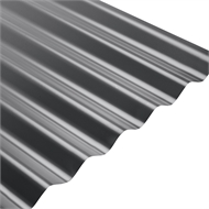 COLORBOND® Steel XRW S-Rib™ Corrugated .42 BMT Steel Roofing - Monument
