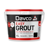 Davco 4L Blackest Black Ready to Use Easy Grout
