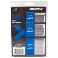 Arrow T50 Staple Multi-Pack 1875 Pack