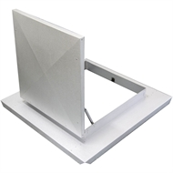 EzyLite Roof Access Hatch 600mm SQ – Tray Deck Roof
