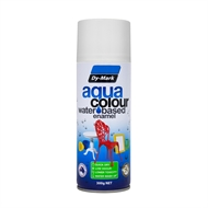 Dy-Mark 300g AquaColour Water Based Enamel  - Gloss White