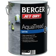 Berger Jet Dry 10L Satin AquaTread White Paving Paint