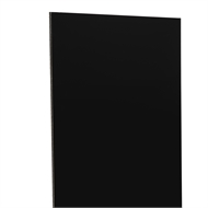 Aligloss White/Black Composite Panel  - 1220mm x 2440mm x 3mm