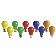 Arlec 25W Frosted Party Light Globes - 10 Pack