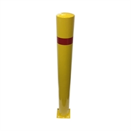 Brutus Yellow Safety Bollard Including Base