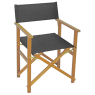 Mimosa Charcoal Timber Directors Chair