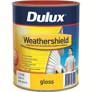 Dulux Weathershield 1L Gloss Black Exterior Paint