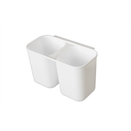 LTW Small White Plastic Cutlery Drainer