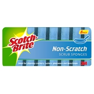 Scotch-Brite Non Scratch Scrub Sponges - 8 Pack
