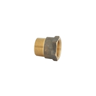 Kinetic 20mm Brass Male / Female Threaded Adaptor