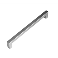 Kaboodle 192mm Brushed Stainless Steel Bar Handle