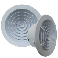 Haron International 150mm Round Jet Diffuser Ceiling Vent