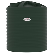 Polymaster 5200L Round Corrugated Poly Water Tank - Heritage Green