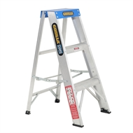Gorilla 0.9m 120kg Industrial Single Sided Aluminium Step Ladder