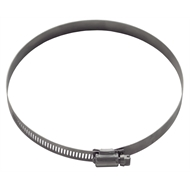 Kinetic 130 - 152mm Stainless Steel Hose Clamp