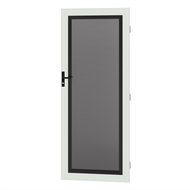 Protector Aluminium 808-848 x 2030-2070mm Adjustable Stainless Steel Security Door - Surfmist
