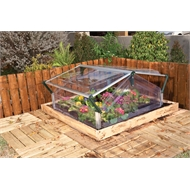 Maze Small Greenhouse Double Cold Frame