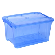 Ezy Storage 15L Blue Storage Tub