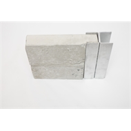 Ridgi 50mm x 50mm x 3mm x 1.8m Galvanised Steel Joiner Post