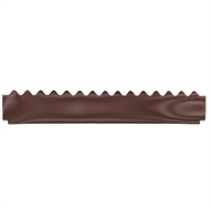 GumLeaf 2mm Hole 1200mm Manor Red Corrugated Roof Gutter Guard