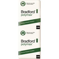 Bradford Polymax Ceiling Batts R2.5 1160 x 580 x 140mm 6.1m2