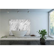 Bellessi 1220 x 3050 x 4mm Motiv Textured Polymer Bathroom Panel - Grey Marble