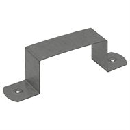 COLORBOND 100 x 50mm Downpipe Clip - Monument
