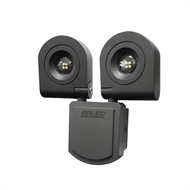 Brilliant Lighting Twin 11w Led White Raptor Ii Security