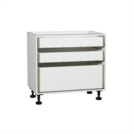 Kaboodle 900mm 3 Drawer Base Cabinet